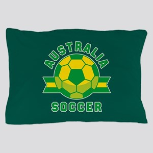 Australia Soccer Pillow Case