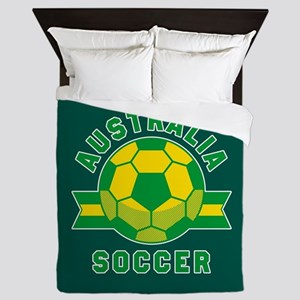 Australia Soccer Queen Duvet