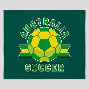 Australia Soccer King Duvet