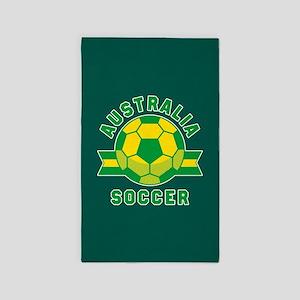Australia Soccer Area Rug