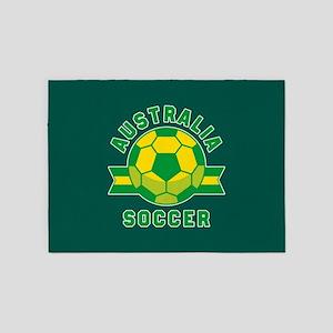 Australia Soccer 5'x7'Area Rug