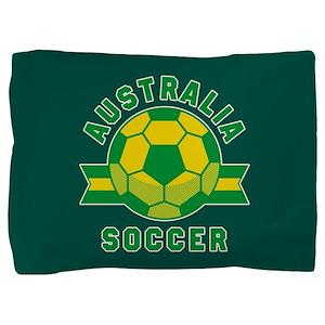 Australia Soccer Pillow Sham