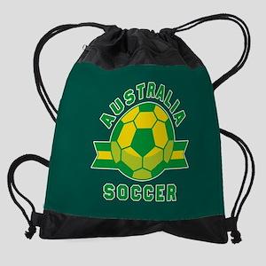 Australia Soccer Drawstring Bag