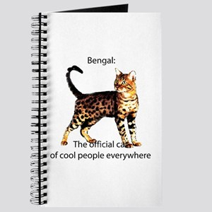 Cool people love bengals Journal