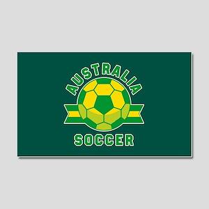 Australia Soccer Car Magnet 20 x 12