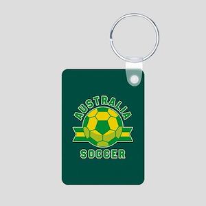Australia Soccer Aluminum Photo Keychain