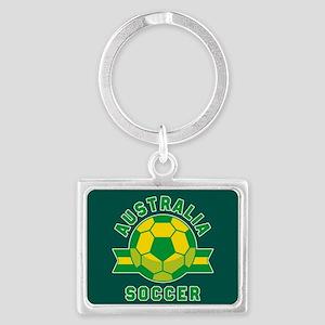 Australia Soccer Landscape Keychain