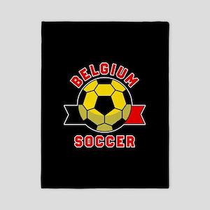 Belgium Soccer Twin Duvet Cover
