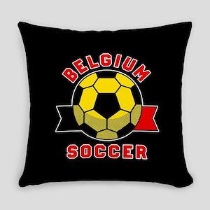 Belgium Soccer Everyday Pillow