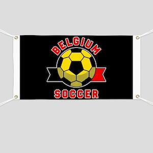 Belgium Soccer Banner