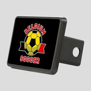 Belgium Soccer Rectangular Hitch Cover