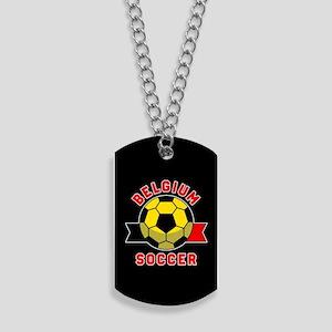 Belgium Soccer Dog Tags