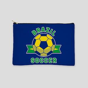 Brazil Soccer Makeup Bag