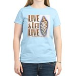 Live & Let Live - Women's Light T-Shirt