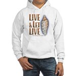 Live & Let Live - Hooded Sweatshirt