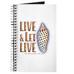 Live & Let Live - Journal