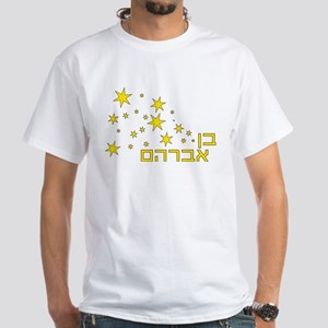 Son of Abraham White T-Shirt