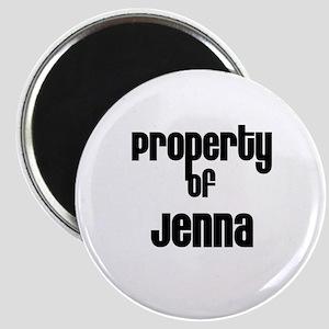 Property of Jenna Magnet
