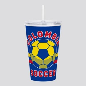 Colombia Soccer Acrylic Double-wall Tumbler