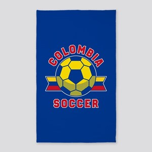 Colombia Soccer Area Rug