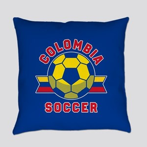 Colombia Soccer Everyday Pillow