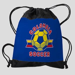 Colombia Soccer Drawstring Bag