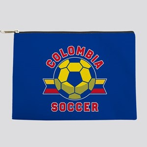 Colombia Soccer Makeup Bag