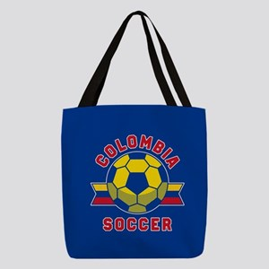 Colombia Soccer Polyester Tote Bag