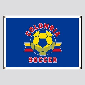 Colombia Soccer Banner