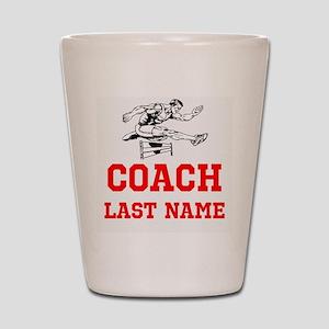 Track Coach Shot Glass