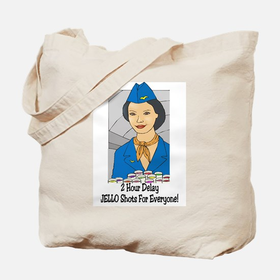 Cool Flight attendant Tote Bag