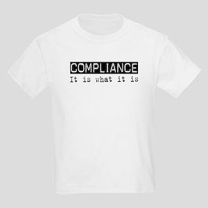 Compliance Is Kids Light T-Shirt