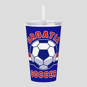 Croatia Soccer Acrylic Double-wall Tumbler