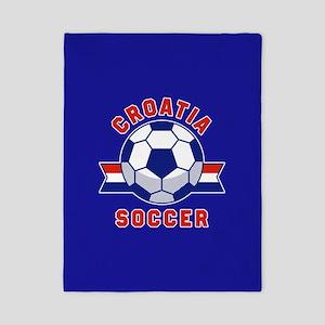 Croatia Soccer Twin Duvet Cover