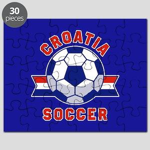 Croatia Soccer Puzzle