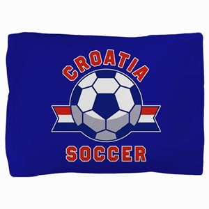 Croatia Soccer Pillow Sham