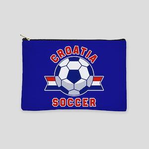 Croatia Soccer Makeup Bag