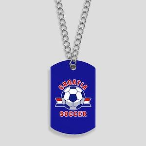 Croatia Soccer Dog Tags