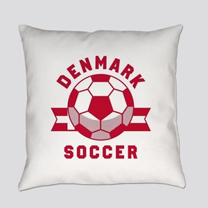 Denmark Soccer Everyday Pillow