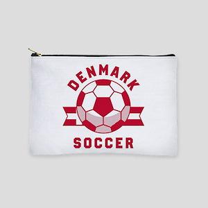 Denmark Soccer Makeup Bag