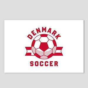 Denmark Soccer Postcards (Package of 8)