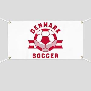 Denmark Soccer Banner