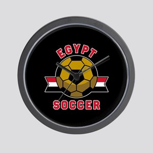 Egypt Soccer Wall Clock
