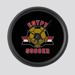Egypt Soccer Large Wall Clock