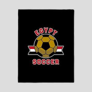 Egypt Soccer Twin Duvet Cover