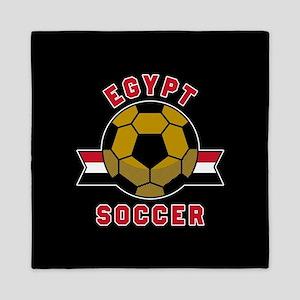 Egypt Soccer Queen Duvet
