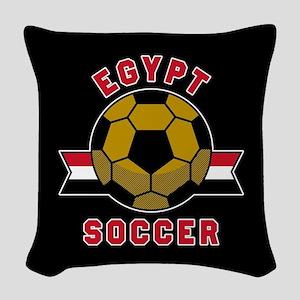Egypt Soccer Woven Throw Pillow