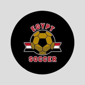 "Egypt Soccer 3.5"" Button"