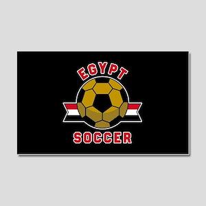 Egypt Soccer Car Magnet 20 x 12
