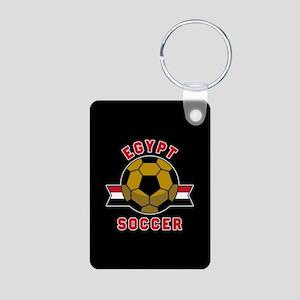 Egypt Soccer Aluminum Photo Keychain